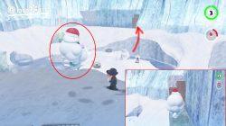snow kingdom warp painting location