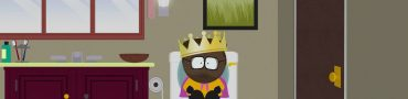 south park fractured but whole stuck at first toilet