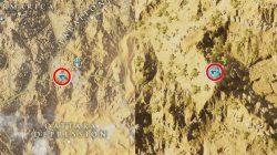 AC Origins Forsaken City Papyrus Riddle Spot