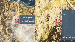 AC Origin Oracle of Apollo Find Papyrus Puzzle