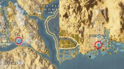 AC Origins Sobek's Rage Loot Map Location