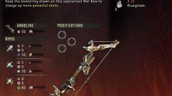 Horizon Zero Dawn Banuk Champion Bow Weapon DLC Frozen Wilds