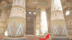 Temple of Khonsou Find Paprys Puzzle AC Origins