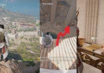 Tomb of Battos Papyrus Puzzle Location AC Origins