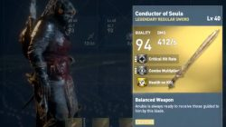 ac origins Conductor of Souls Sword