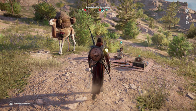 ac origins nomad's bazaar locations where to find daily quests