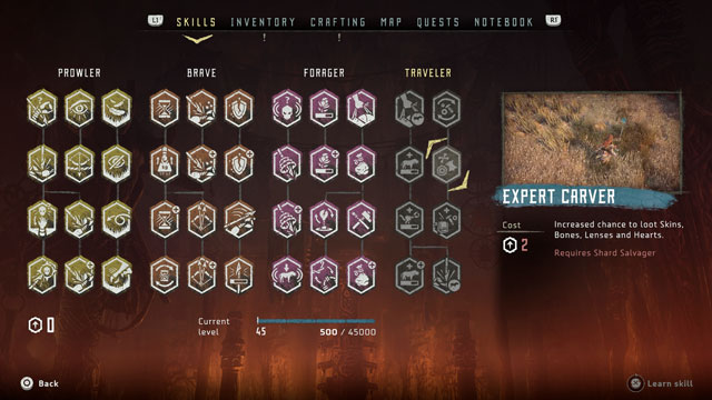 frozen wilds bug makes players lose xp skills
