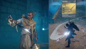 AC Origins FFXV Ultima Blade Legendary Sword