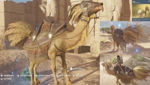 AC Origins Kweh Mount FFXV Chocobro Camel