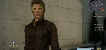FFXV Episode Ignis DLC New Glasses - How to Get