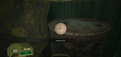 Resident Evil 7 Not a Hero DLC Antique Coin Locations