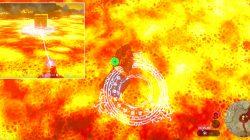 Survive lava fiery fate