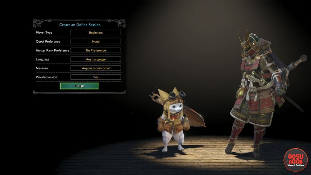 monster hunter single player