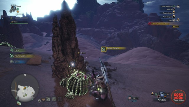 Monster Hunter World Bauble Cactus Locations Prickly