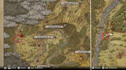 Monastery Treasure Map 2 Dig Spot Kingdom Come Deliverance