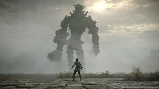 Shadow of the Colossus Towers Over UK Sales Chart