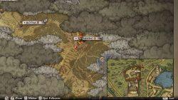 Treasure Map XI Vendor Location