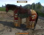 kingdom come deliverance saddle spurs bridle caparison horseshoe