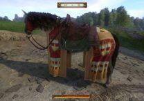 kingdom come deliverance saddle spurs bridle caparison horseshoe