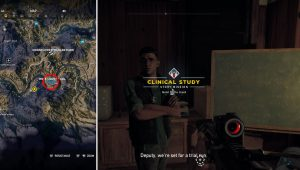 Clinical Study Story Mission Far Cry 5 Dr. Charles Lindsey