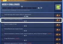 Fortnite BR Search Chests in Flush Factory