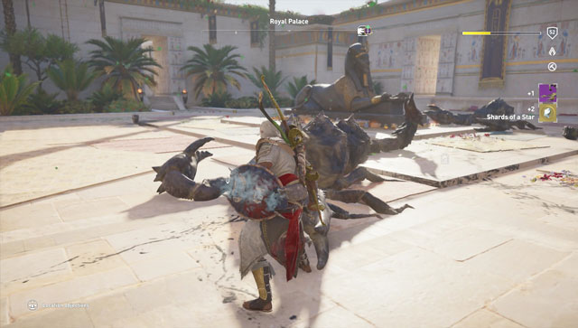 ac origins shards of a star farming