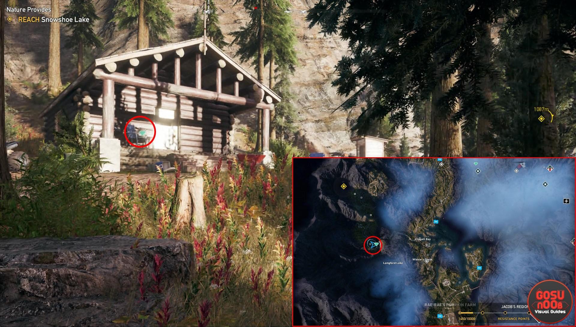 Far Cry 5 Jacobs Region Prepper Stash Locations
