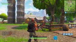 fortnite br fatal fields dancing sign
