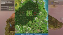 fortnite br wailing woods chest camping spot