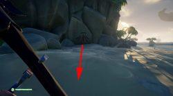 sea of thieves devils ridge riddle treasure chest location