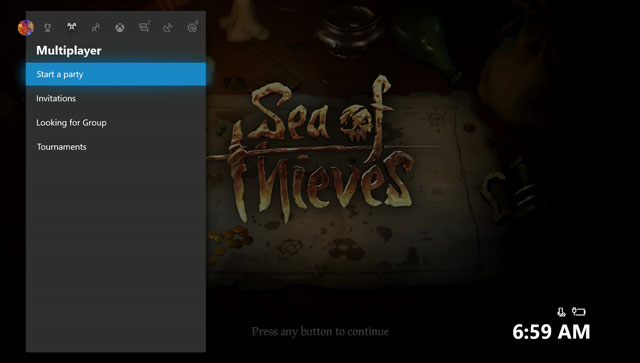 Sea of Thieves How to Play Coop & Invite Friends