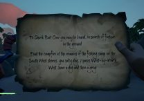 sea of thieves shard bait cove riddle solution location
