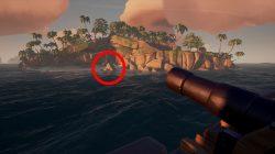 snake island sunstone location sea of thieves