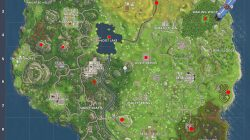 where to find different bullseye locations fortnite battle royale