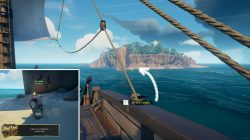 Discovery Ridge Seahorse Painting Location Sea of Thieves Game