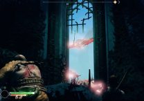 God of War Alfheim gate with roots