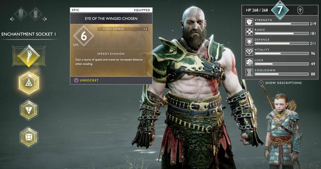 God of War Best Gear for Sigrun Boss Fight