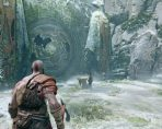 God of War Spinning Rune Door River Pass Puzzle - How to Solve