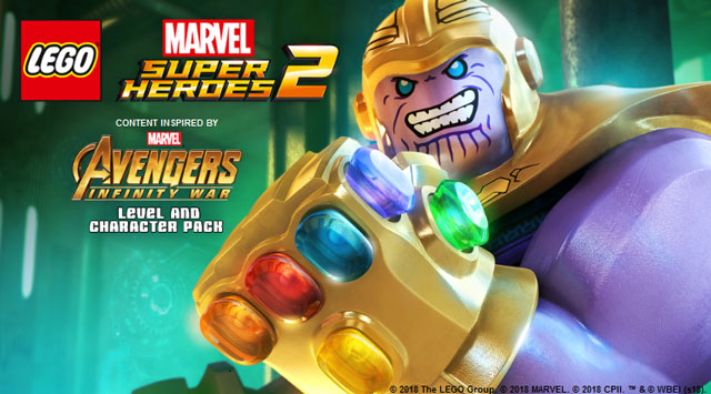 Lego Marvel Super Heroes 2 Infinity War Character & Level Pack Revealed