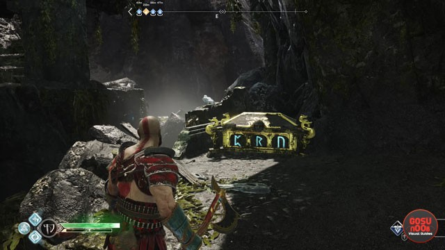 Light Elf Outpost Nornir Rune Chest Puzzle Solution in God of War