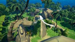 Rock pass Guarded by Sea Life Sea of Thieves