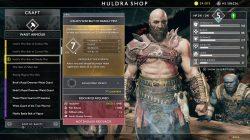 best armor in god of war belt of deadly mist