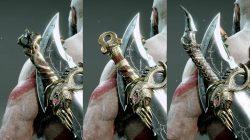 best blades of chaos pommels god of war