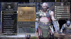 best niflheim armor god of war gauntlets of endless mist