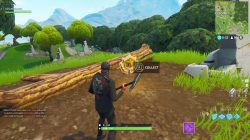 fortnite br stone circle wooden bridge red rv challenge
