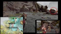 god of war abandon ship collectible isle of death