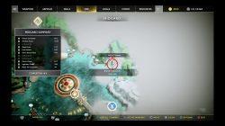 god of war boat captain's key treasure guide
