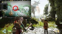 god of war fafnir dragon location