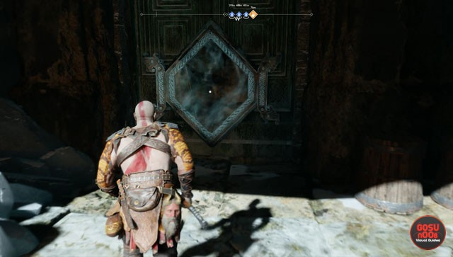 god of war hidden chamber locations how to open