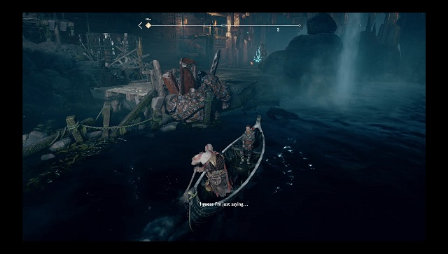 god of war how to check play time